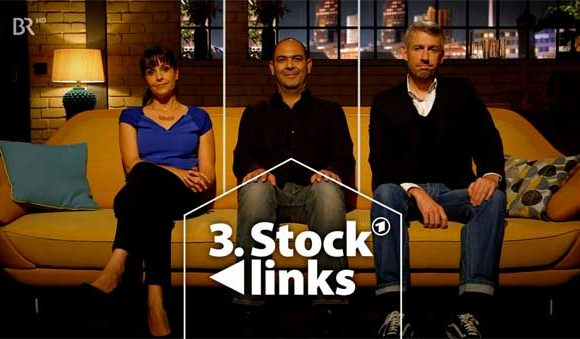 3. Stock links – Sitcom Kabarett (ARD/BR)